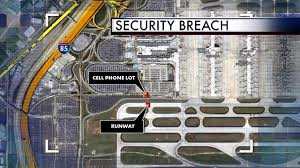 Hartsfield Jackson Atlanta International Airport Map by Airport Manager Says Security Breach Caught On Camera Is Under