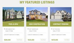 real estate listing template creative real estate listings with real estate website template