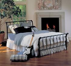 pretty wrought iron bed frames classic and feminime wrought iron