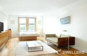1 bedroom apartment in manhattan new york studio apartments small open concept light wood floor and