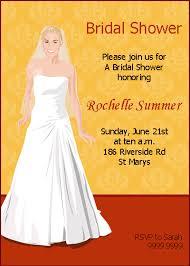 custom bridal shower invitations custom bridal shower invitation sles