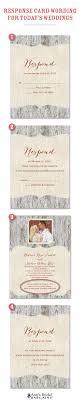 wedding invitations rsvp wording response card wording exles for online rsvps
