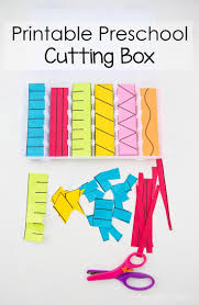 Preschool Writing Paper Template Top 25 Best Cutting Practice Ideas On Pinterest Preschool