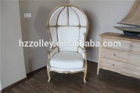 Dome Chairs French Canopy Chair Classic Vintage Queening Chair Half Dome