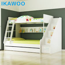 Cartoon Bunk Bed by Ikawoo Ikazz Cartoon Child Bunk Bed Double Bed With Storage And