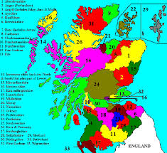 county map county map of scotland from scotlands family scottish genealogy
