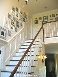 Staircase Decorating Ideas Wall Cozy Stair Decorations Ideas Images Collection In Staircase
