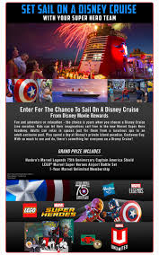 marvel u0027s captain america civil war sweepstakes disney movie rewards