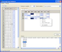 Truth Table Calculator Karnaugh Map Minimizer