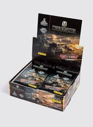 world of tanks trading cards box of 24 boosters wargaming store