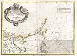 Luzon Map File 1771 Bonne Map Of Tonkin Vietnam China Formosa Taiwan