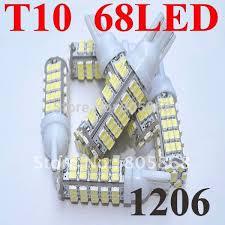 shop led light t10 68led w5w 68smd 1206smd car auto bulb