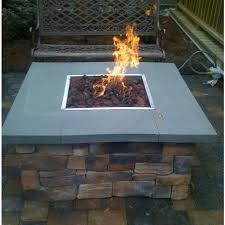 Firepit Base 36 Inch Gas Pit Table By Oec Cultured Base