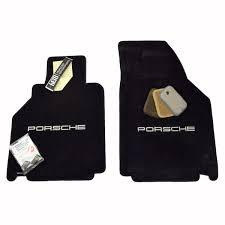 porsche logos boxster floor mats