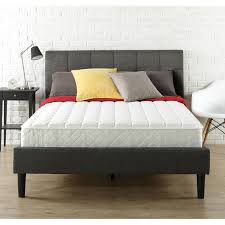 Standard King Size Bed Dimensions Slumber 1 8 U0027 U0027 Mattress In A Box Multiple Sizes Walmart Com