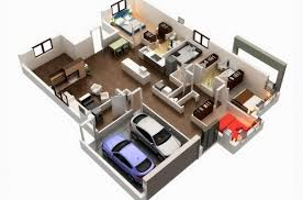 3d house floor plans 5 bedroom 3d house plans house floor plans