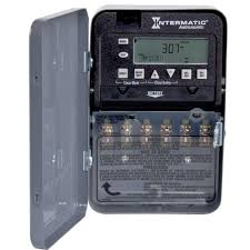 intermatic 30 amp 7 day dpst 2 circuit astronomic time switch