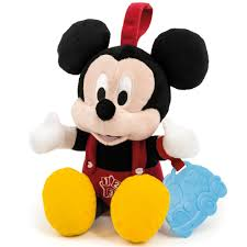 disney baby mickey mouse small talking soft toy 13 00 hamleys
