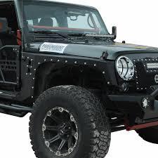 2011 jeep wrangler fender flares 07 14 jeep wrangler jk evolution front fender flare