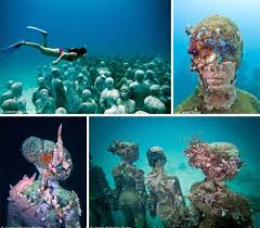 New Mexico snorkeling images The domestic curator cancun 39 s underwater museum jpg