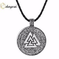 silver solid circle necklace images Online shop chengxun mens european necklace solid circle pendant jpg
