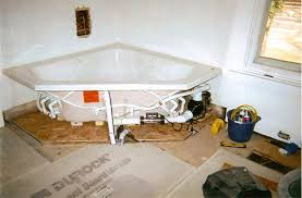 astonishing indoor jacuzzi design with wooden side also white with