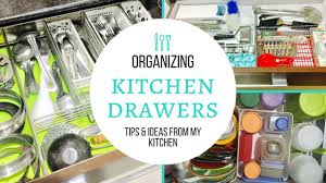 organizing kitchen drawers kitchen drawers organizing tips ideas youtube