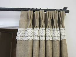 curtains burlap valance curtains inexpensive window treatments