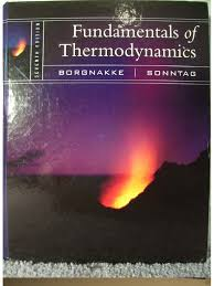 fundamentals of thermodynamics 7th edition borgnakke sonntag