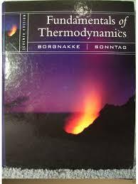 fundamentals of thermodynamics 7th edition borgnakke sonntag