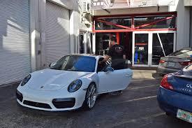 miami blue porsche turbo s porsche 911 turbo s miami autosport technik