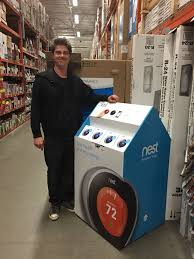 home depot black friday nest prices nest display at the home depot los angeles retail bricks and