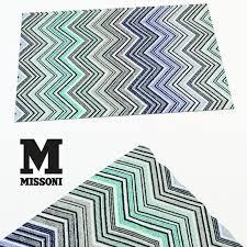 room 3d carpet missoni home cgtrader