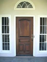 Solid Wooden Exterior Doors Solid Wood Front Doors Fetchmobile Co