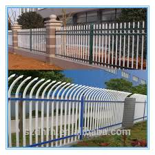 Garden Fence Types - high safety powder coated gates designs fence iso 9001
