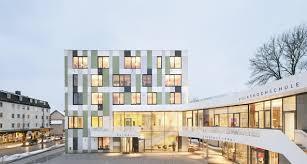 architektur rosenheim bildergalerie zu das neue rathaus stefan behnisch