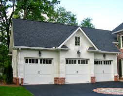 bi level house plans with attached garage colonial style garage apartment 29859rl architectural designs