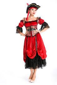 women halloween horsewoman pirate costume pink queen