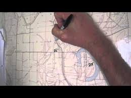 sections townships and ranges determining the township range section and quadrant of the