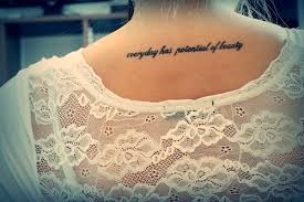 Beauty Tattoo Ideas Back Of Neck Tattoos Simply Enhance Your Beauty Fash Circle