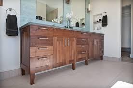 Walnut Bathroom Vanity Walnut Vanity Transitional Bathroom Denver By Marc