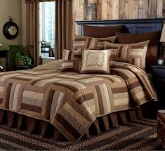 Brown Duvet Cover King Shades Of Brown King Size Quilt Set By Park Designs P C Fallon Co