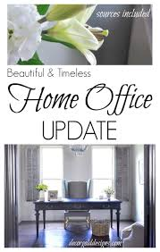 home beautiful home office updated with a beautiful chandelier home