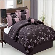Cheap Purple Bedding Sets Covington Paisley 7 King Or Purple Comforter Sets