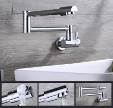 wall mount single handle kitchen faucet wall mount single handle kitchen faucet water brass tap free