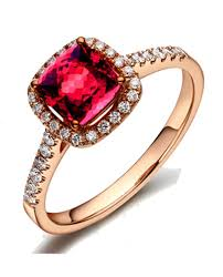 antique gold engagement rings 1 carat ruby and diamond antique engagement ring in gold