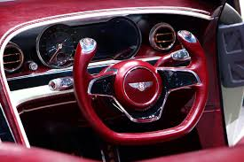 bentley red convertible electric bentley convertible concept proves evs don u0027t need to make