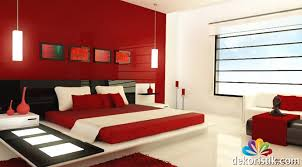 Excellent Red Black And Cream Bedroom Ideas  For Home Design - Red and cream bedroom designs