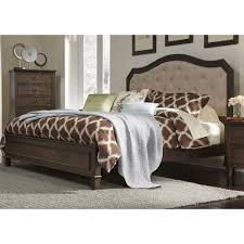 Walnut Bed Frame Berkley Heights Antique Washed Walnut Bed Free Shipping On