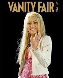Miley Cyrus 2008 Vanity Fair Culturespill Vanity Fair